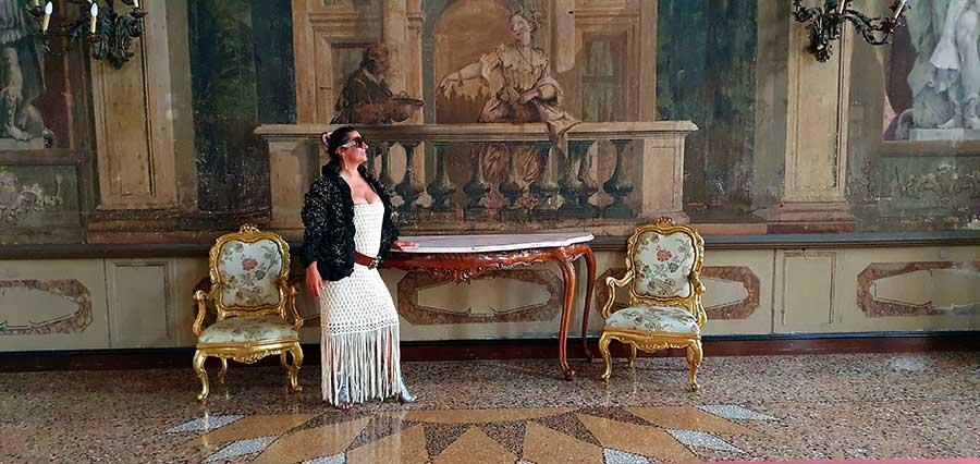 Ballroom Ca' Sagredo Hotel Ventian palazzo italy ( Gracie Opulanza (3)