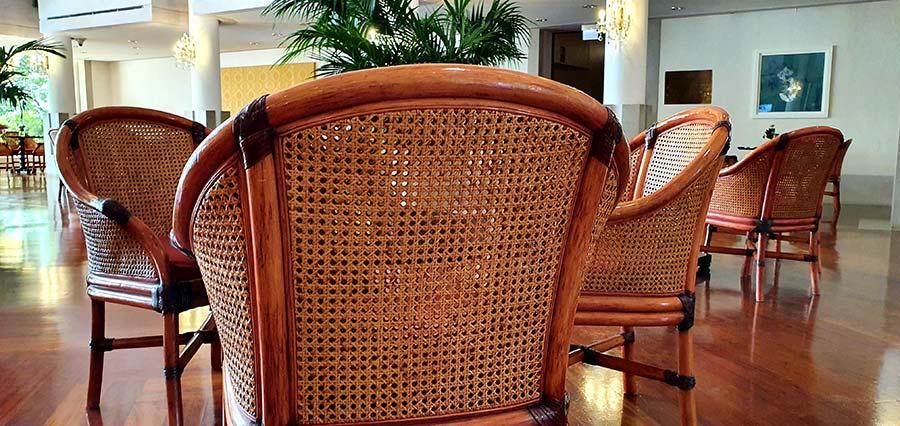 Bamboo Italian furniture