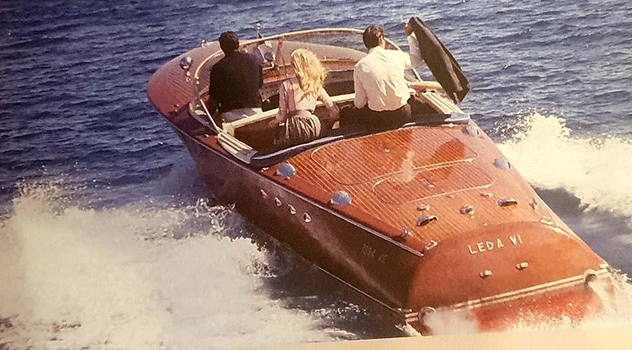 Venice riva film speedboat