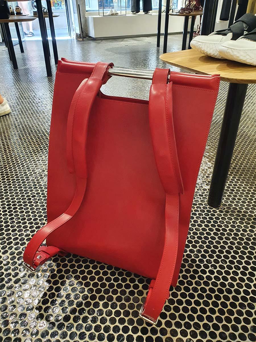 Ferrari Red backpack Gracie Opulanza