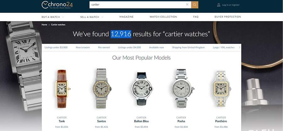 Chrono24---Cartier-Search-Result