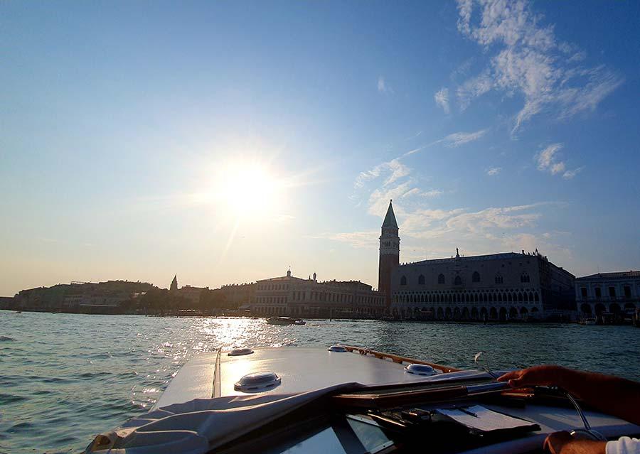 Riva speedboat Venice made in italy