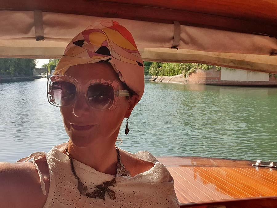 Riva boat Hotel Excelsior Lido