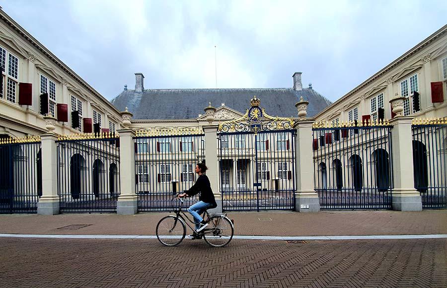 The Hague Bike Woman Holland
