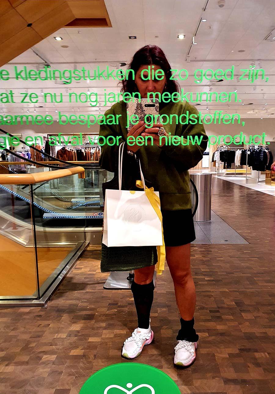 green vanilia top holland