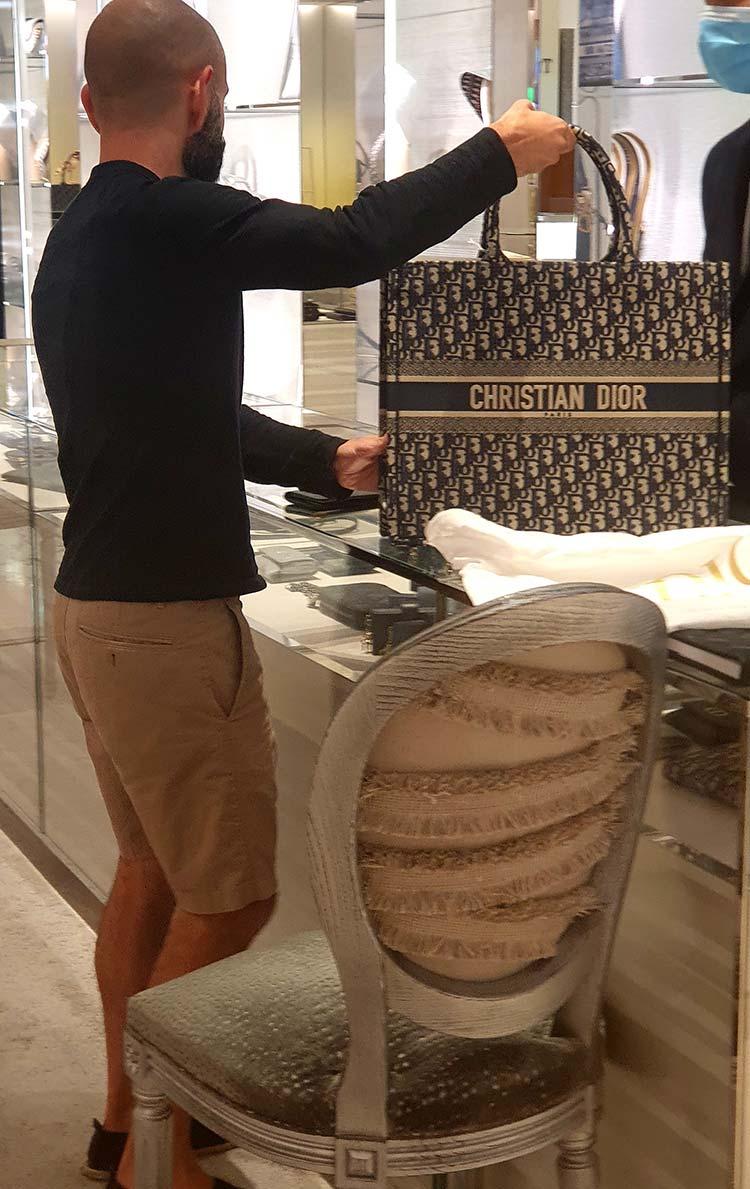 Dior Tote Canvas Bag