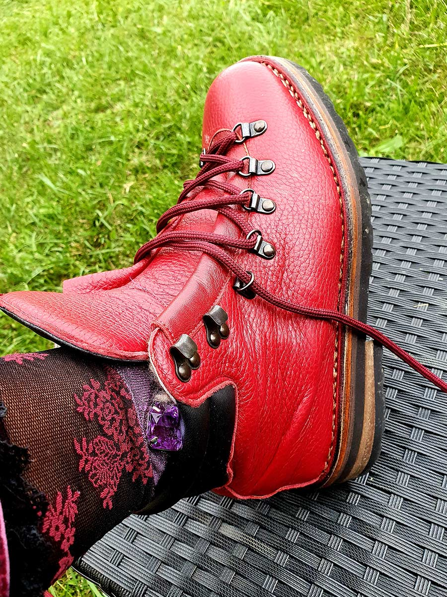 GO Red Hiking Boot