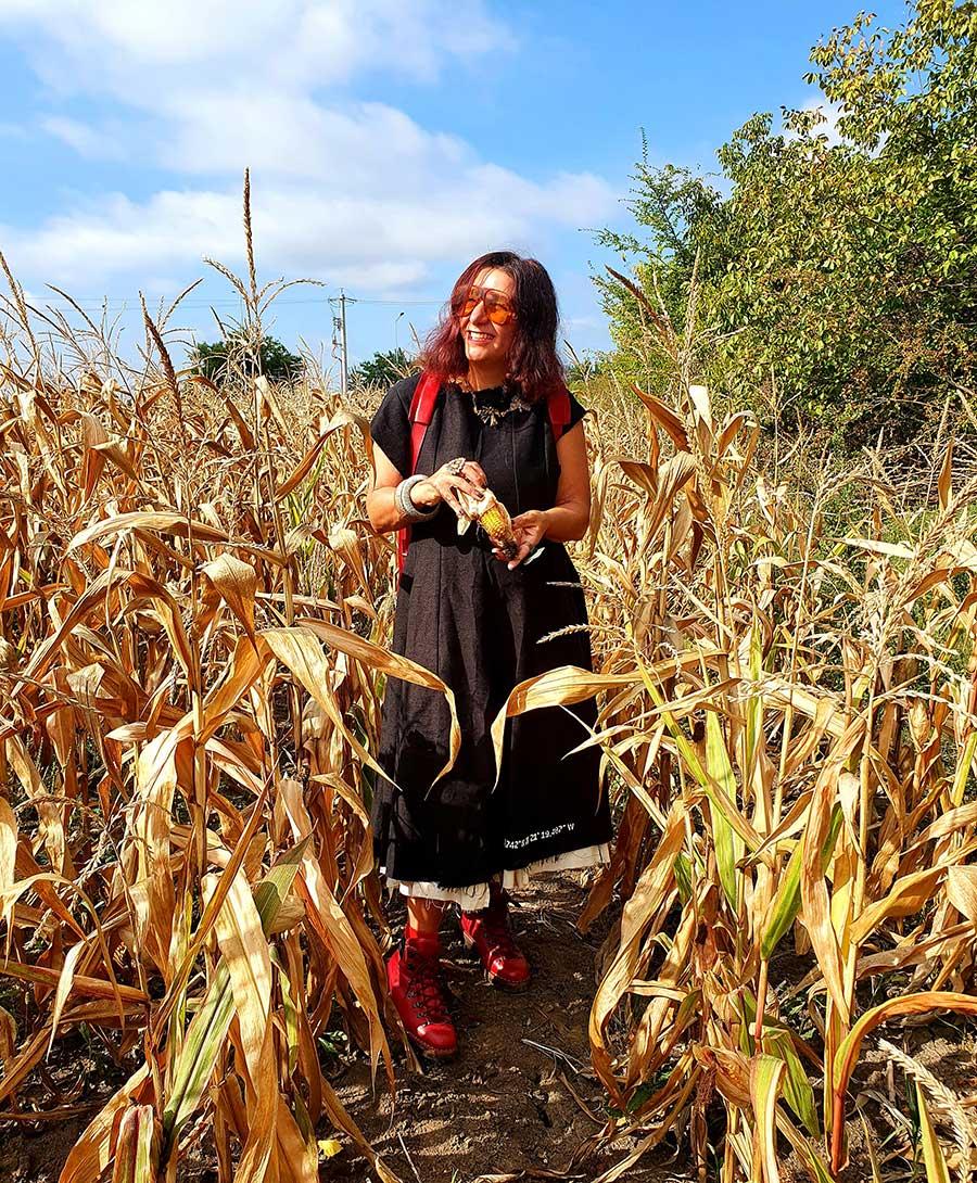 Gracie Opulanza X Fratelli Borgioli GO Red Hiking Boot Gucci Eyewear Made In Italy (1)