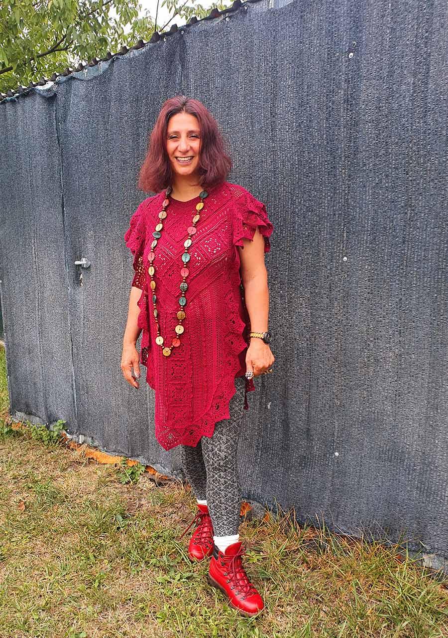 GO-Hiking-boots crotchet dress