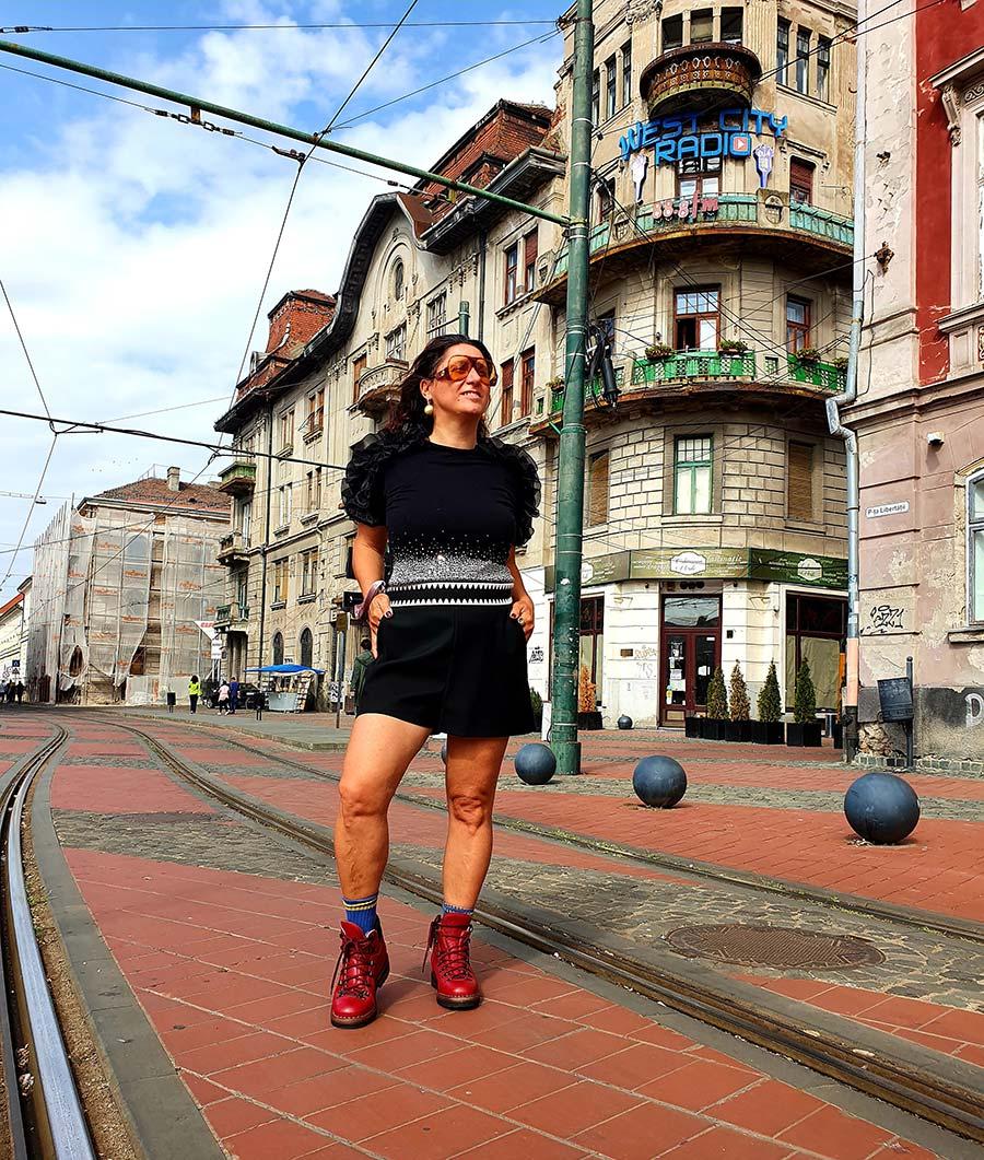 Gracie Opulanza X Fratelli Borgioli GO Red Hiking Boot Gucci Eyewear Made In Italy (12)