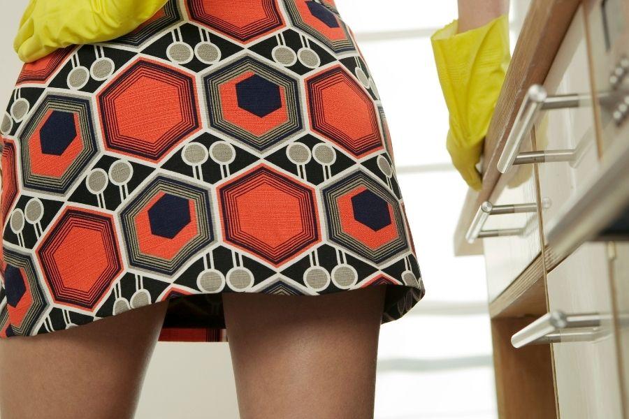 mini skirt How to Get the 60s Geometric Mod Look