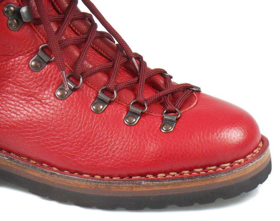 fratelliborgioli.com Gracie Opulanza GO red hiking boots 2021 Made In Italy (2)
