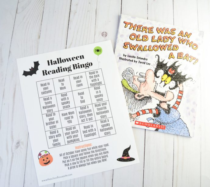 Halloween reading bingo the schoolhousesite