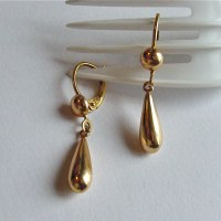 Champions: Gold Drop Earrings | Gracious, Good's Blog