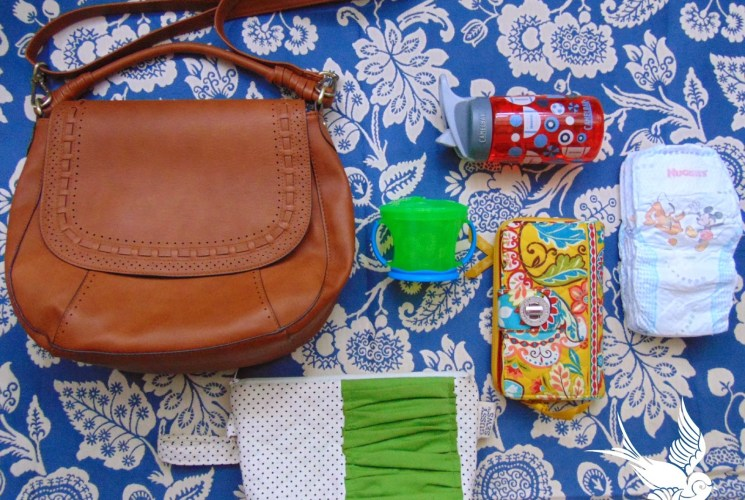 Ditching the Diaper Bag