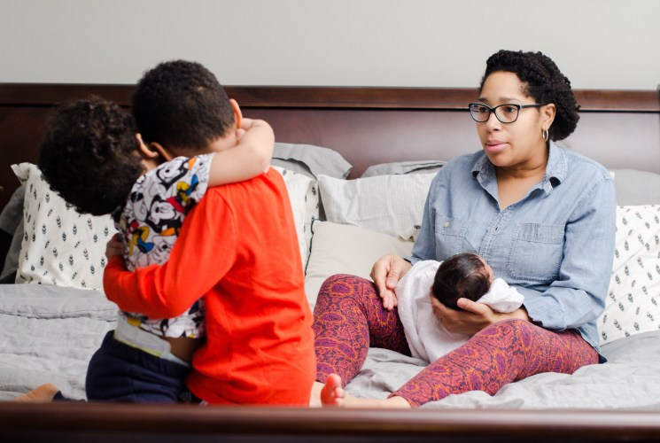 Motherhood: Then there were 3…
