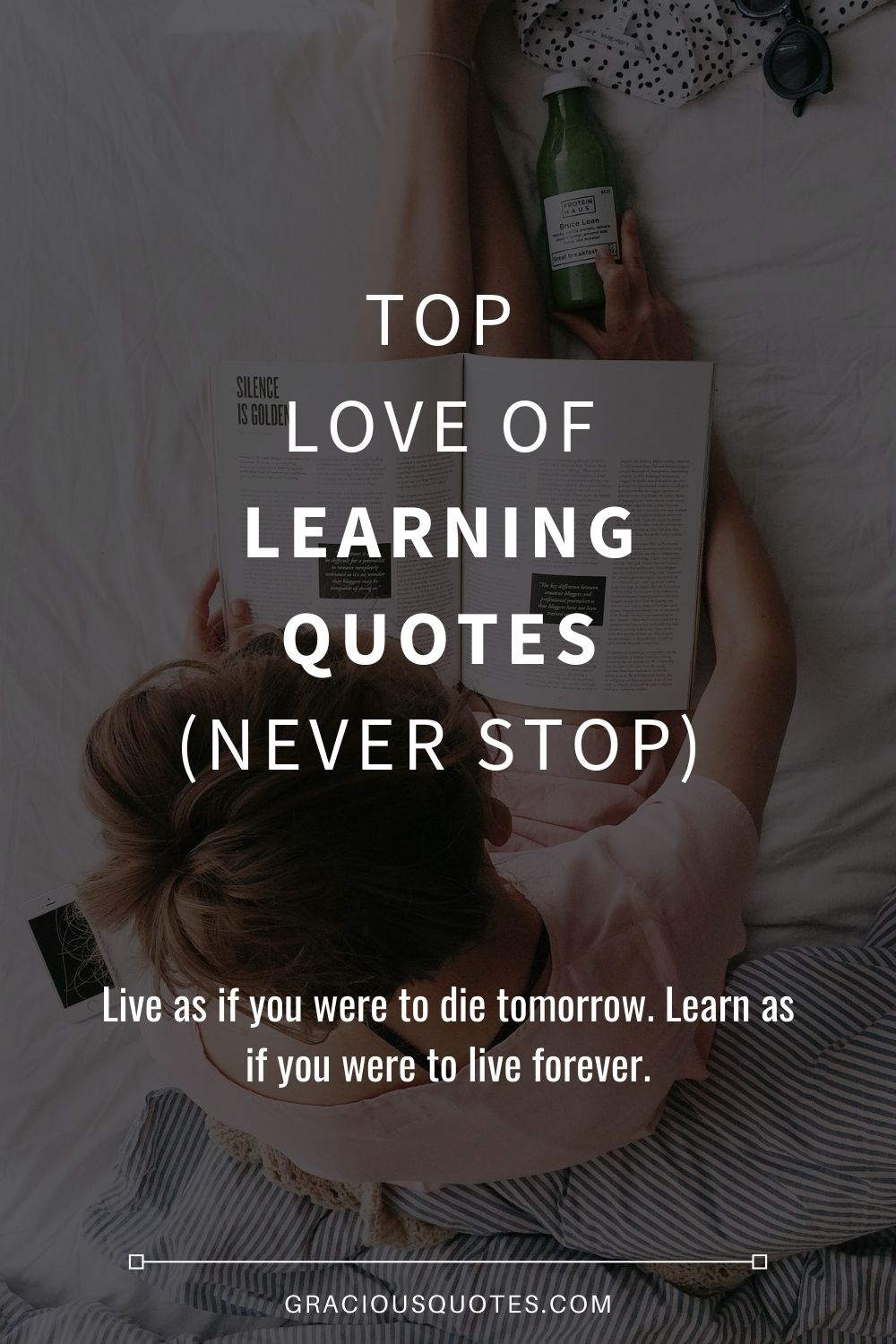 Love Of Learning Quotes : learning, quotes, Learning, Quotes, (NEVER, STOP)