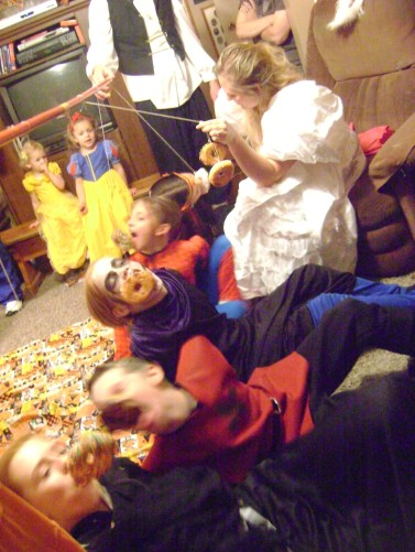 A Halloween Party 076