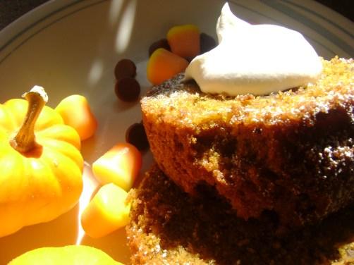 a pumpkin cake 036