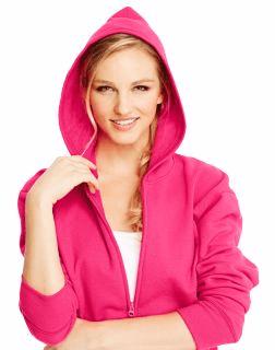 2df295eed03 Hanes ComfortSoft™ EcoSmart® Women s Full-Zip Fleece Hoodie
