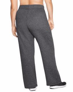 6e55ca42b8129 Champion Plus Size Open Bottom Fleece Sweatpants for Women