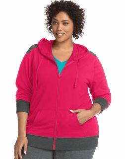 Women's active wear, women's fleece jacket, women's hoodie