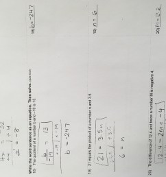 Homework Archives - Page 25 of 70 - Grades 7 \u0026 8/ Middle School Math [ 4032 x 3024 Pixel ]