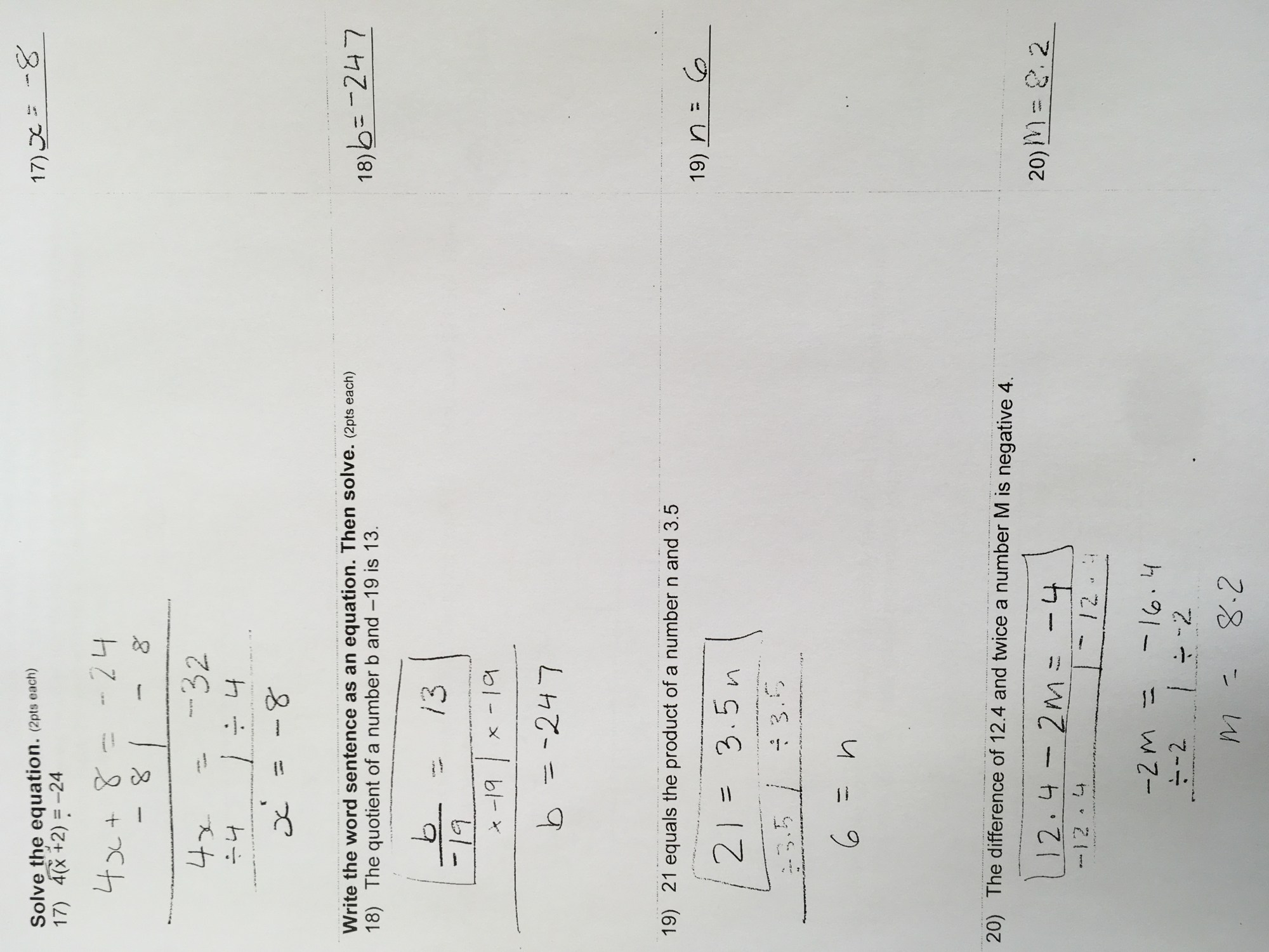 hight resolution of Homework Archives - Page 25 of 70 - Grades 7 \u0026 8/ Middle School Math