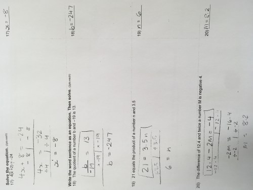 small resolution of Homework Archives - Page 25 of 70 - Grades 7 \u0026 8/ Middle School Math