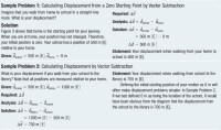 Adding Displacement Vectors Worksheet Answers - vector ...