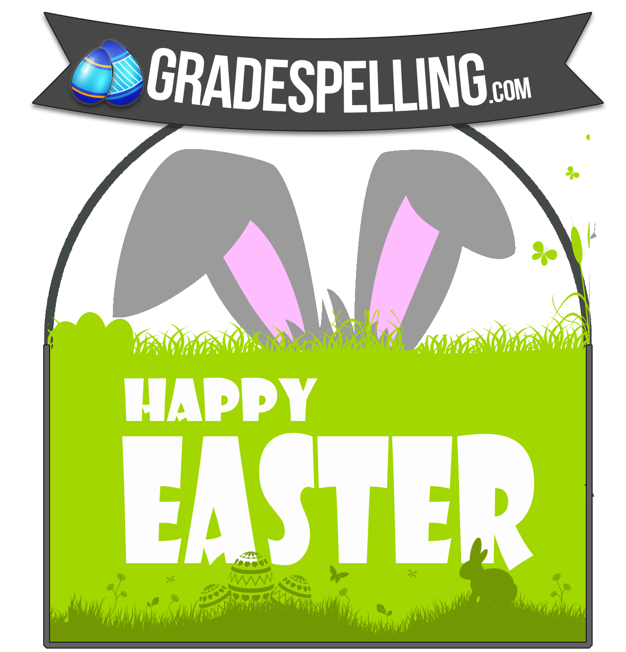 Free Easter Spelling Amp Vocaculary Word Lists Gradespelling