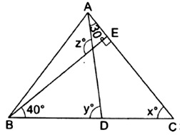 EX 6.3 Q6 In Fig. 6.44, the side QR of PQR is produced to