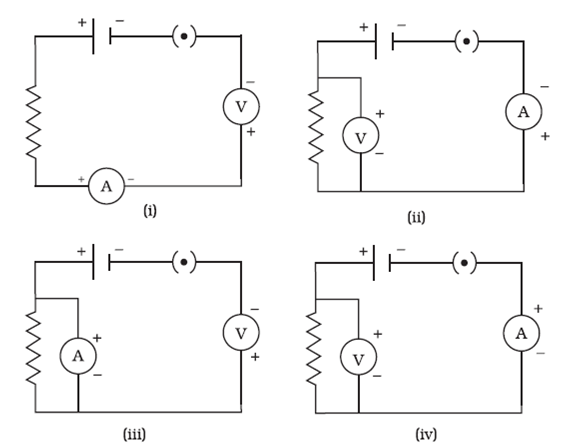 In the following circuits (Figure 12.2), heat produced in