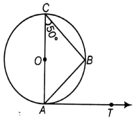 EX 9.1 Q3 In figure, AB is a chord of the circle and AOC