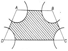 EX 12.3 Q5 From each corner of a square of side 4 cm a