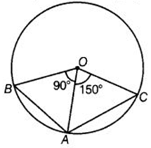 EX 10.3 Q9 Two chords AB and AC of a circle subtends