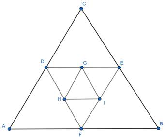 EX 9.undefined Q7 A side of an equilateral triangle is