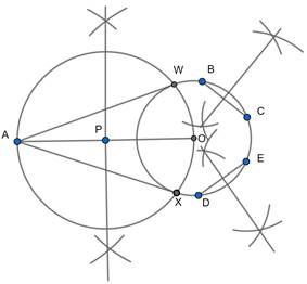 EX 11.2 Q7 Draw a circle with the help of a bangle. Take a