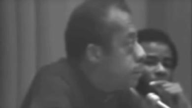 Photo of James Baldwin on Education