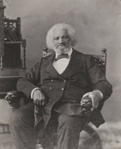 SC-CN-93-0786 PORTRAIT COLLECTION - FREDERICK DOUGLASS Portrait of Frederick Douglass, abolitionist, journalist, and social reformer, n.d. unknown