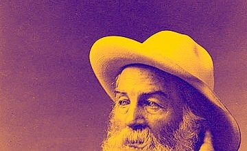 """Photo of Walt Whitman on Language """"Arising Out of the Work"""""""