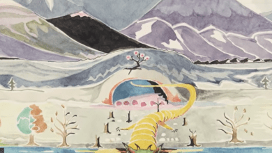 Photo of Middle-Earth at the Morgan Library? Yes, Please.
