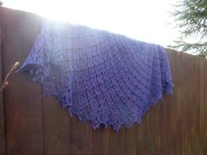 Juliet's Shawl hand knitting pattern by Gradiance Yarns   www.gradianceyarns.co.uk