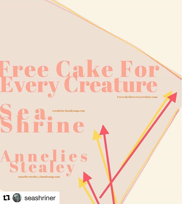 Friday October 19th at 8pm at Gradient Projects In Thomas WV! … @freecakeforeverycreature @anneliesstealey #freecakeforeverycreature #indie #seashrine #wv #diy #supportlocalmusic