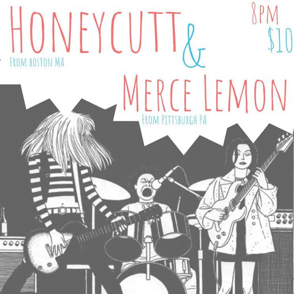 Coming up this Wednesday… @honeycuttband & @mercelemon