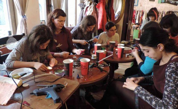 Atelier flori kanzashi de craciun-14