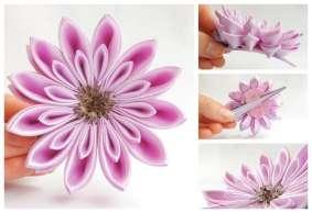 Crizantema lila mica