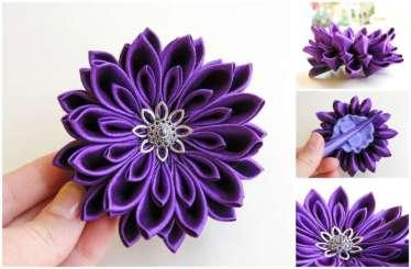 Crizantema mov inchis