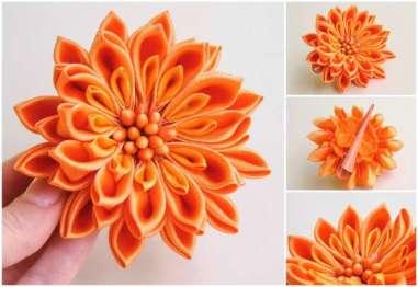 Crizantema oranj