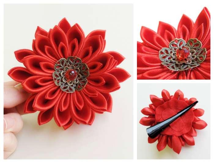 Crizantema rosie